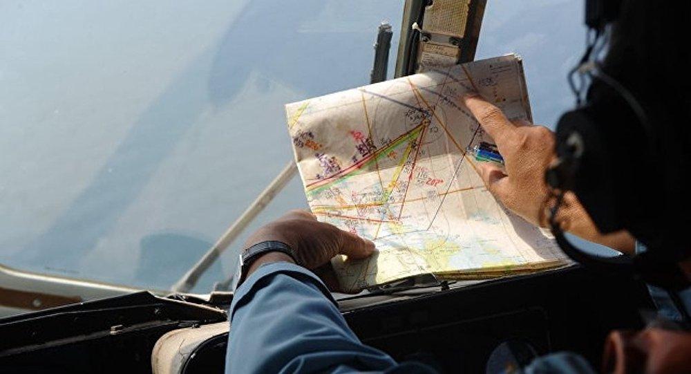 失蹤的馬航波音777「現身」谷歌地圖