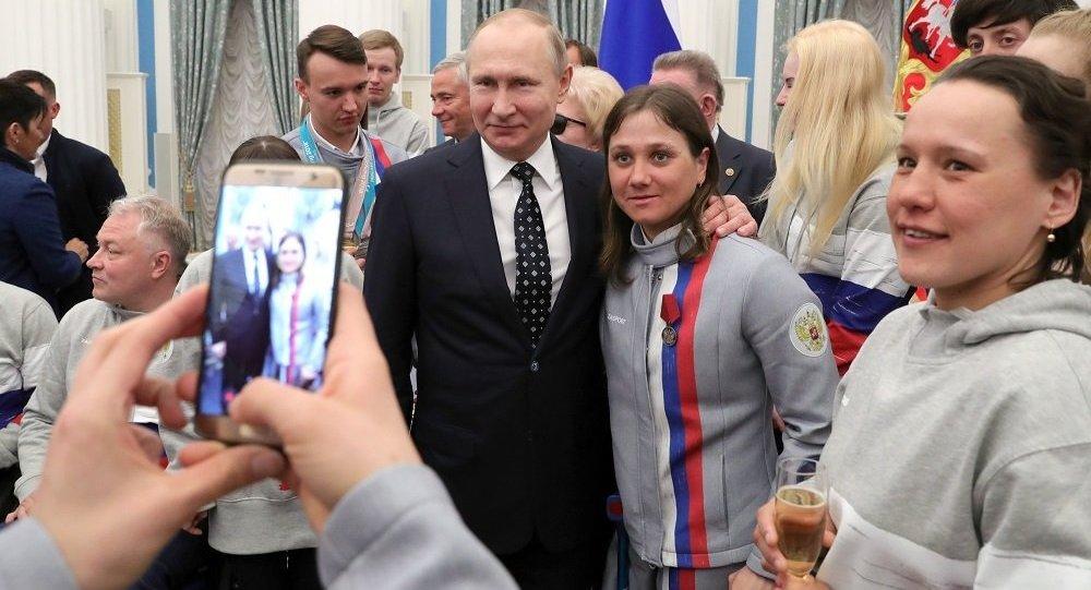 普京:俄羅斯殘奧運動員在平昌的表現未受到情緒壓力影響