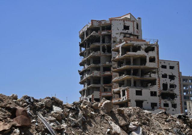 消息人士:叙大马士革居民街区遭武装分子炮击 造成2死15伤