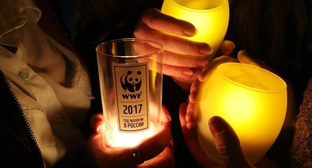 莫斯科近兩千座建築24日將參與「地球一小時」熄燈活動