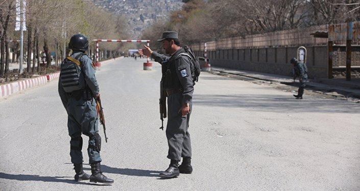 阿富汗安全部隊消滅對喀布爾內政部大樓的襲擊者