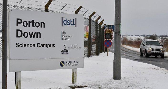 俄国防部:英国是正在实施新型化学武器研发计划的国家之一