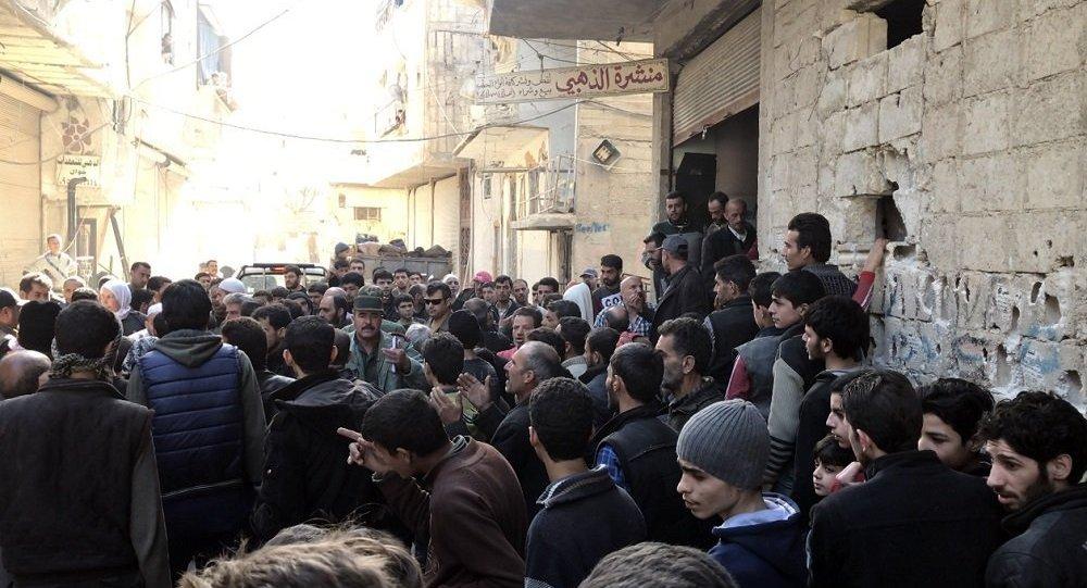 俄驻叙调解中心:22日已有5千多名平民撤出东古塔地区
