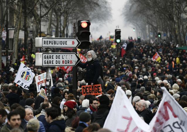 法国抗议活动