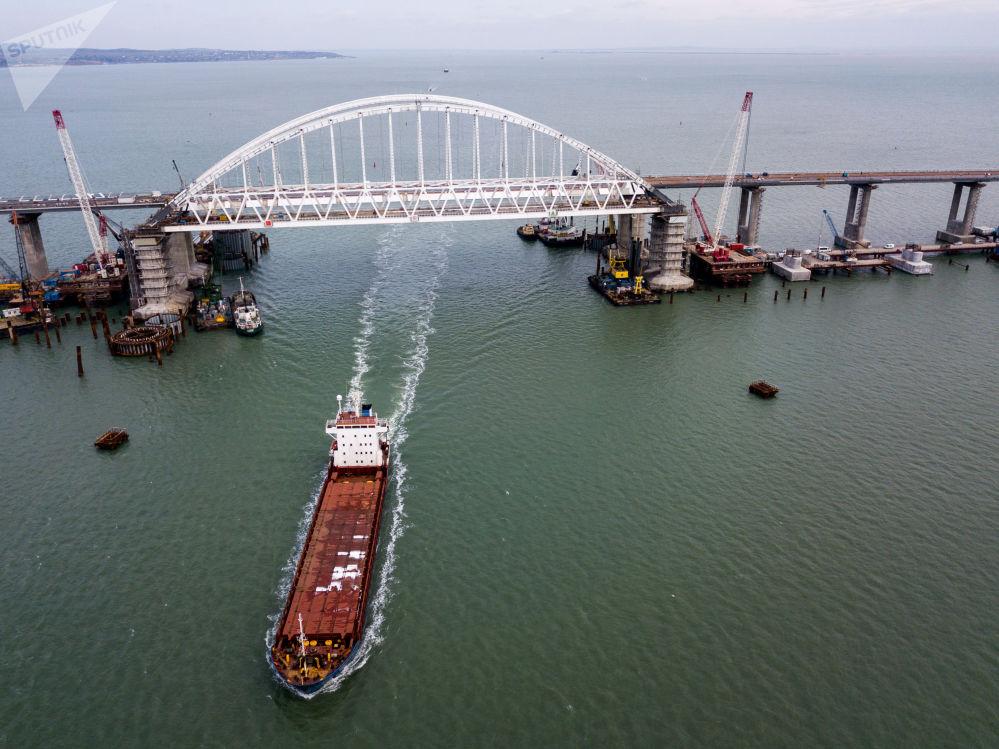 克里米亞大橋建設