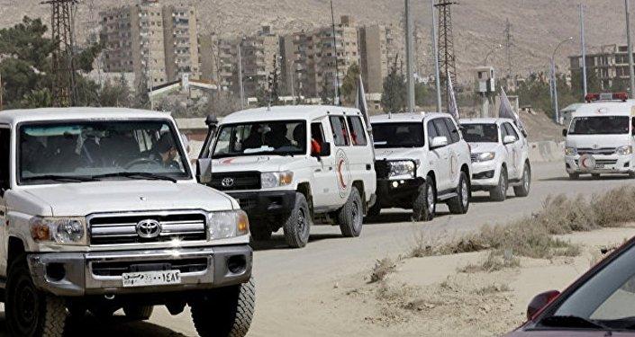 敘境內一晝夜有3400余名武裝分子及其家屬經兩個人道走廊撤離