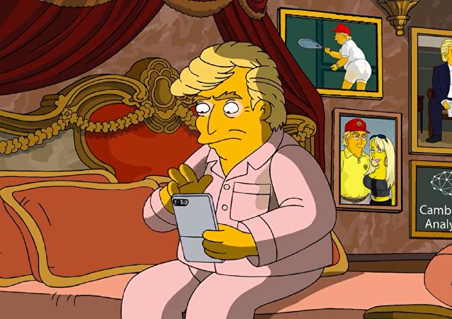 普京在新一集《辛普森一家》中成为美国国务卿