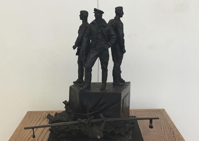 蘇聯飛行員雕像