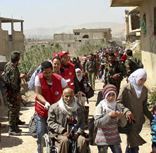 叙利亚近三个半月来共有超过3.1万难民自邻国返回家园