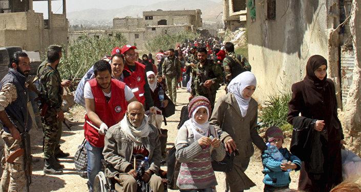 敘利亞近三個半月來共有超過3.1萬難民自鄰國返回家園