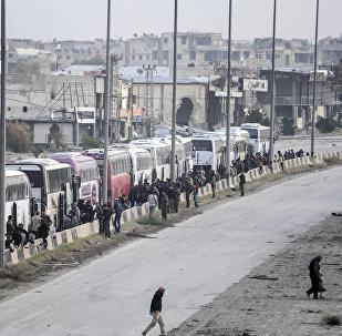 叙军东古塔行动以来自交战区撤出超过17万人