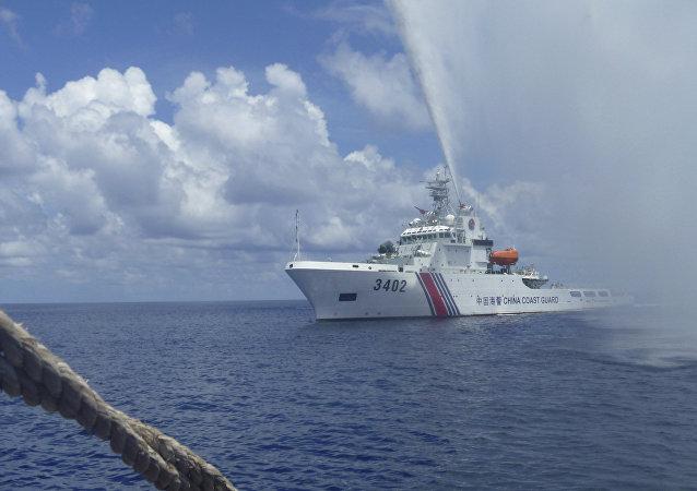 中國海警船