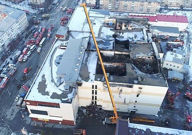 俄克麥羅沃商場火災的司法鑒定證實緊急情況部前局長玩忽職守