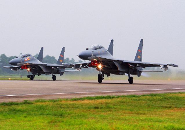 台湾担忧大陆航母和战机出没?