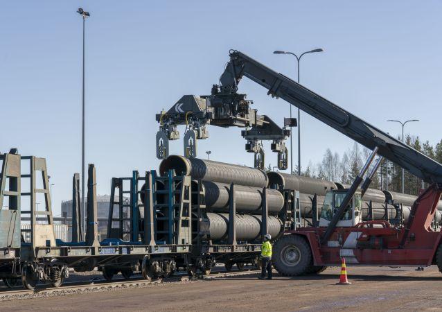 """瑞典已批准建造""""北溪-2""""天然气管线"""
