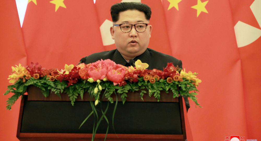 金正恩承诺将把中朝关系推向新的发展阶段