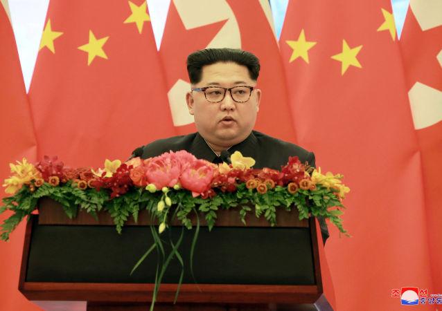 金正恩承諾將把中朝關係推向新的發展階段