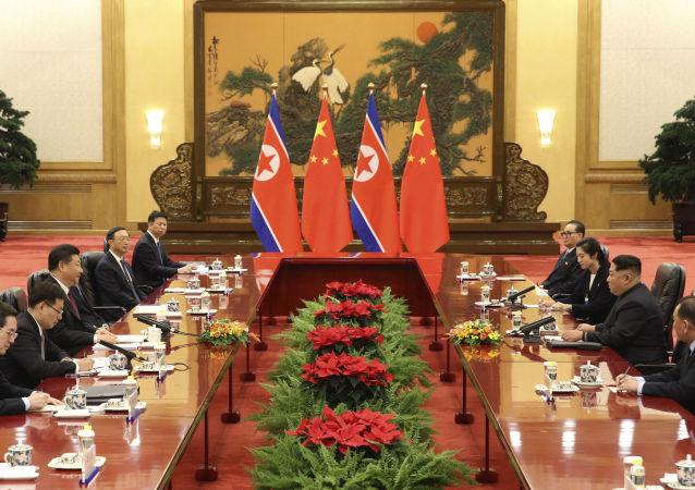中国欲在解决朝鲜半岛问题上独立发挥作用