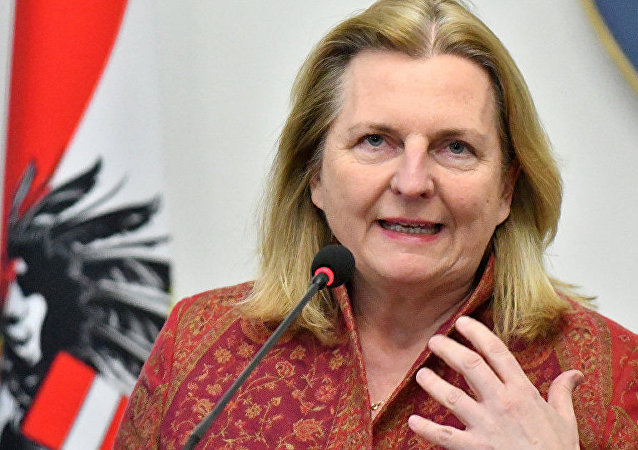 奧地利外交部長卡茵·克萊瑟