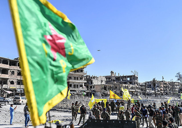 """库尔德""""人民保护部队""""(YPG)"""