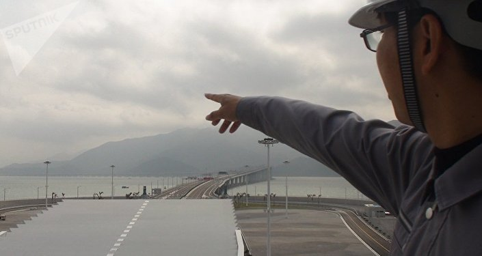 張勁文 港珠澳大橋管理局 工程總監