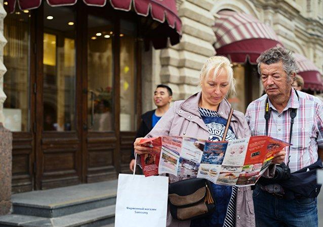 莫斯科将为世界杯球迷发放140万份旅游指南