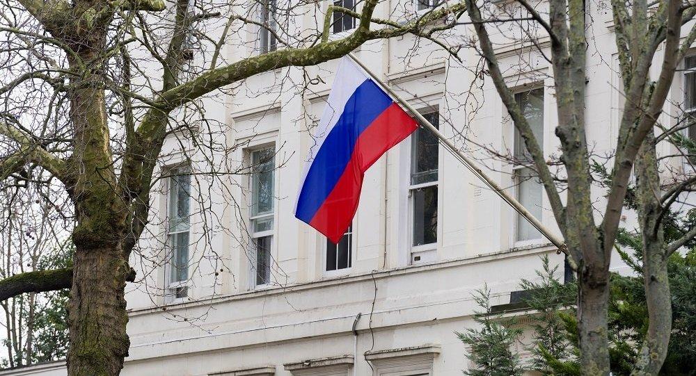 俄駐英大使館:英國清楚應該縮減多少名駐俄外交人員