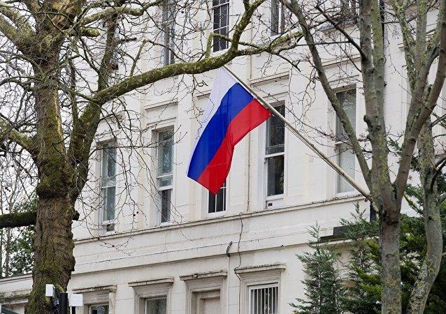 俄驻英大使馆:英国清楚应该缩减多少名驻俄外交人员