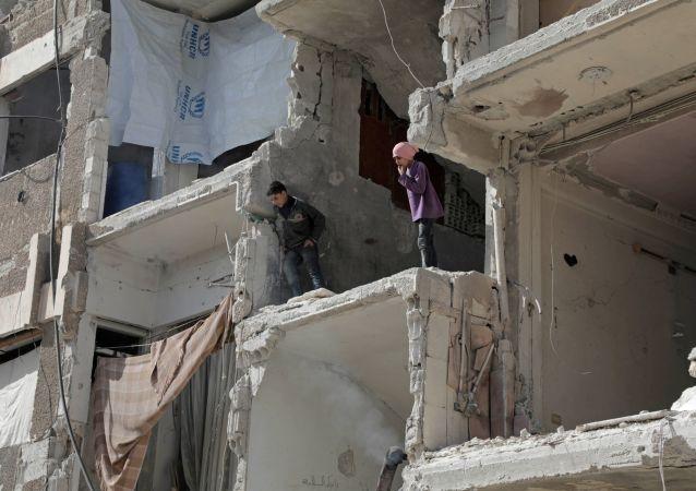 俄罗斯军方没有在叙利亚找到疑似化武受害者