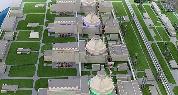 阿库尤核电站模型