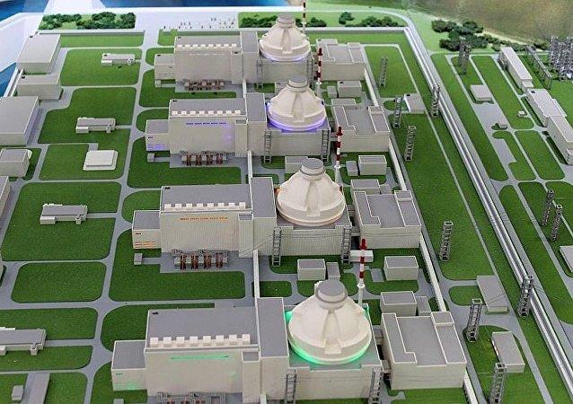 阿庫尤核電站模型