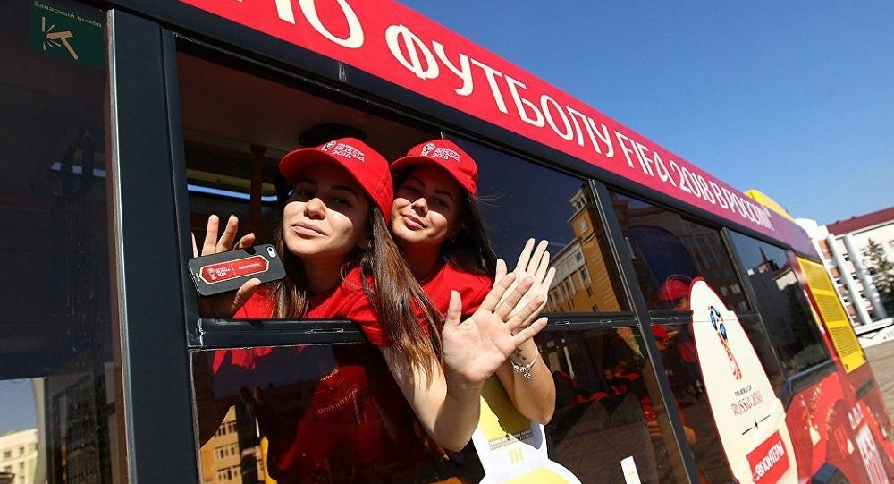 世界杯期間莫斯科將迎來6千名志願者上崗服務