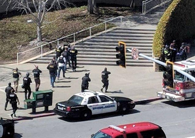 YouTube总部枪击案致1死4伤