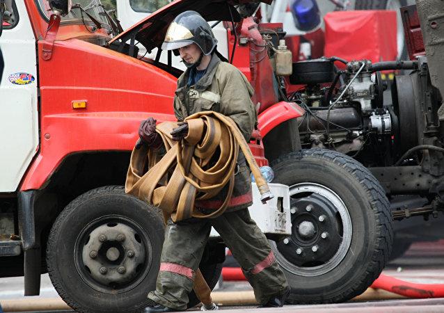 俄緊急情況部:奧倫堡州首府一住宅樓起火造成7人死亡