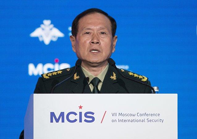 中国防长魏凤和访俄后将启程前往白俄罗斯