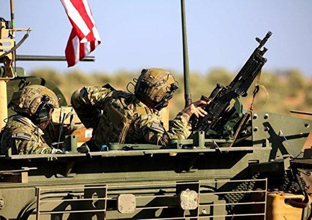 任何外国力量未经许可在叙存在都被视为侵略