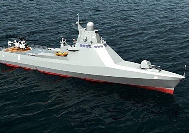 俄罗斯22160型巡逻舰让美国人叹服