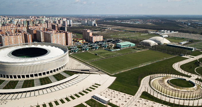 「克拉斯諾達爾」體育場和「克拉斯諾達爾」少年足球學院基地