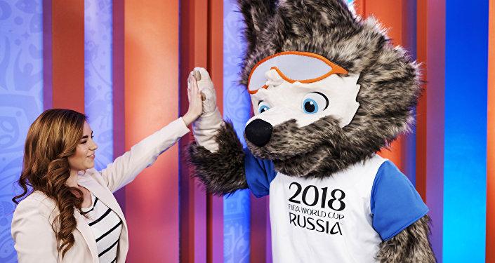 2018世界杯官方吉祥物作者葉卡捷琳娜·博恰羅娃