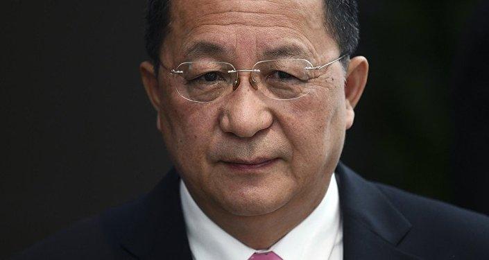 中國外交部:朝鮮外務相李勇浩將於6日至8日訪華