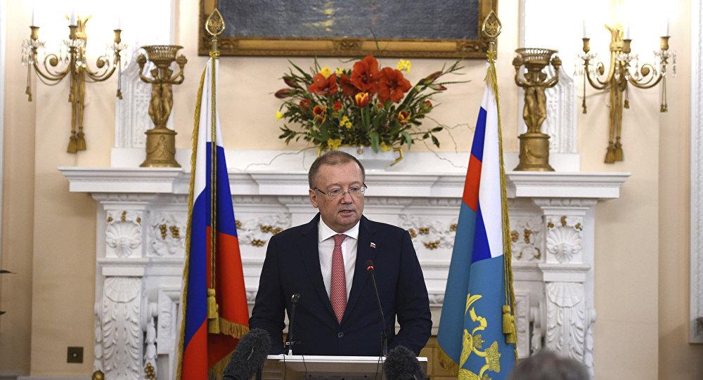 俄罗斯驻英国大使亚历山大∙雅科文科