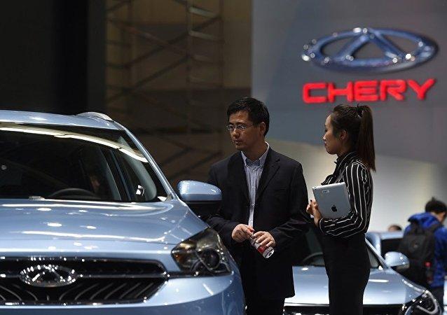 奇瑞汽車今年4月在俄銷量同比增長31%