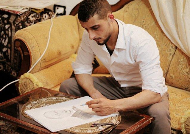 叙利亚:昨日之士兵,今日之画家