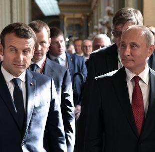 俄法領導人討論美國單方面退出伊朗核協議後的局勢