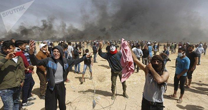 巴勒斯坦外交官:美國否決安理會有關加沙地帶局勢的聲明草案