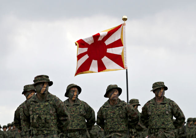 日本自卫队士兵