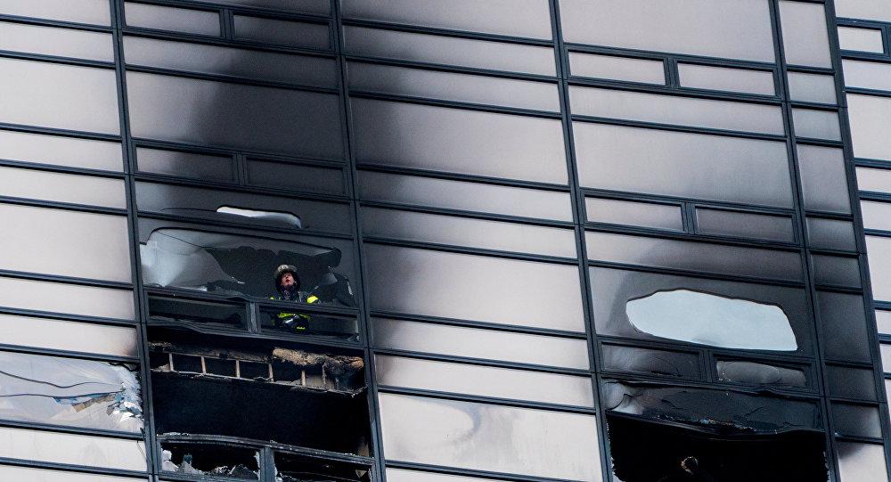 媒体:纽约特朗普大厦火灾造成1人死亡