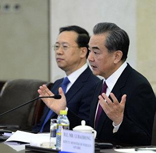 中國外長:希望朝韓和朝美領導人兩場會晤都能夠取得成功