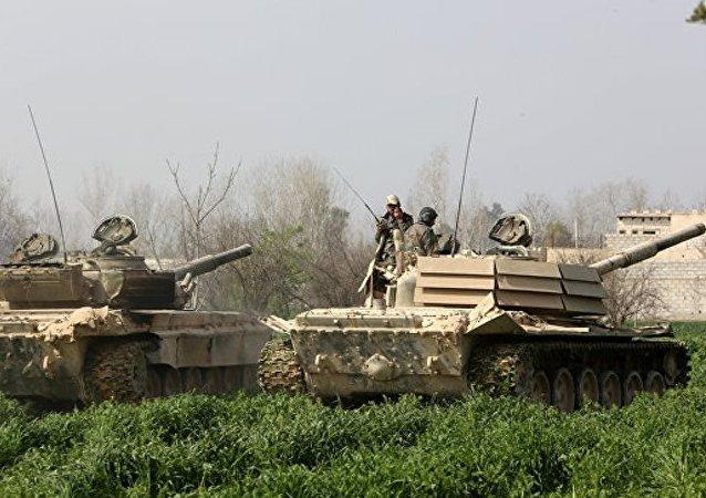 美國否認有關在敘實施軍事行動的消息