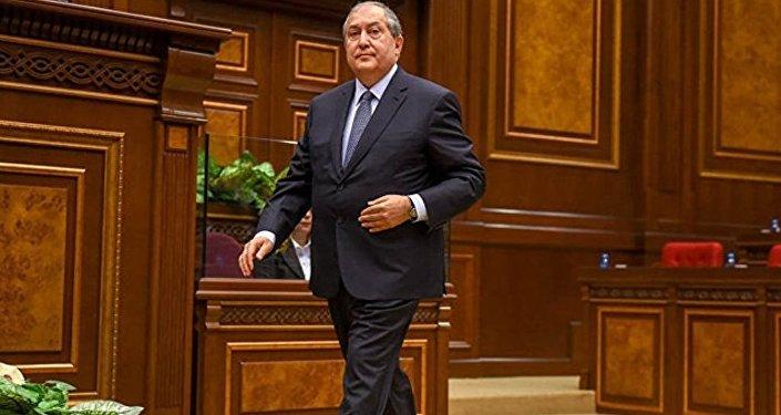 亚美尼亚新总统将宣誓就职